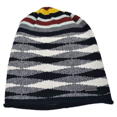 Chameleon Stripe Pull On Beanie Hat