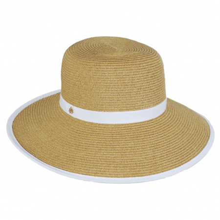 Toyo Straw Braid Facesaver Hat
