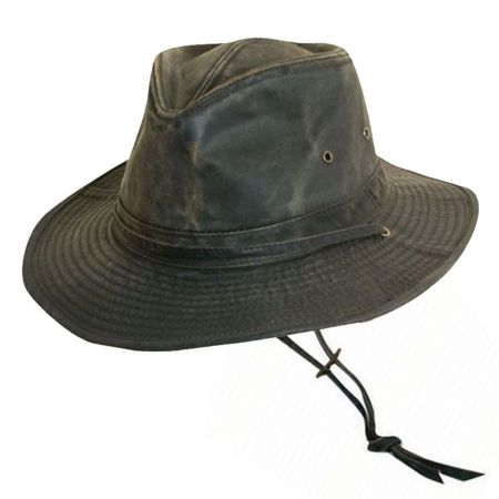 Dorfman Pacific Company Weathered Cotton Outback Hat