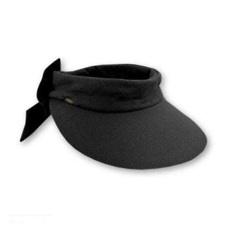 Backbow Cotton Visor alternate view 1