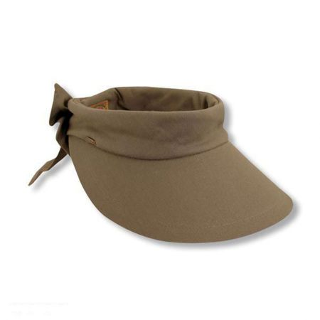 Backbow Cotton Visor alternate view 5