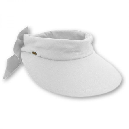 Backbow Cotton Visor alternate view 7