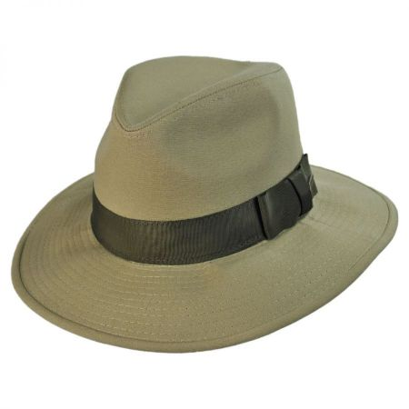 Officially Licensed Cotton Safari Fedora Hat alternate view 1