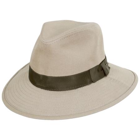 Officially Licensed Cotton Safari Fedora Hat alternate view 2