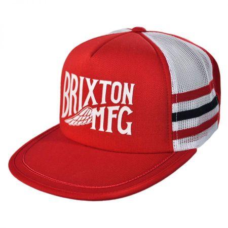 Brixton Hats Conventry Mesh Snapback Baseball Cap