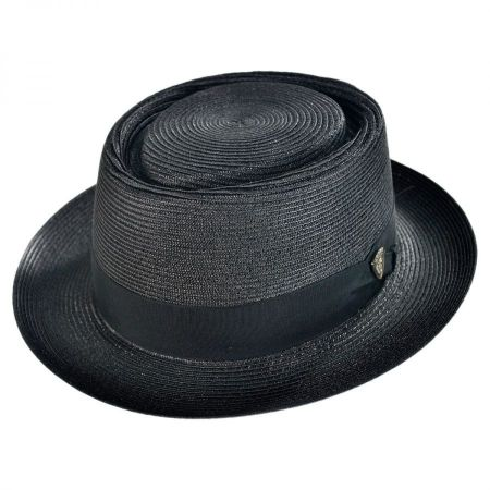 Dobbs Gate Milan Straw Pork Pie Hat