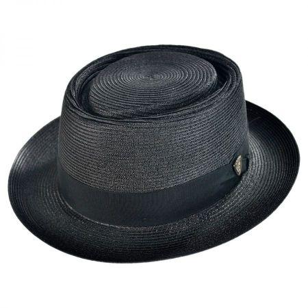 Dobbs Gate Milan Straw Pork Pie Hat