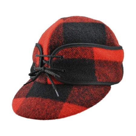 Beaver Brand  Railroad-B. Plaid Cap