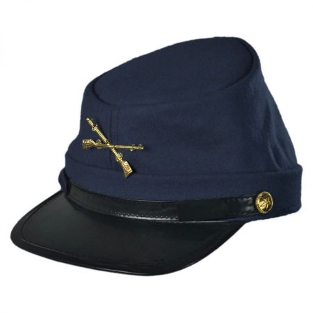 Jacobson Kepi Wool Felt Civil War Cap