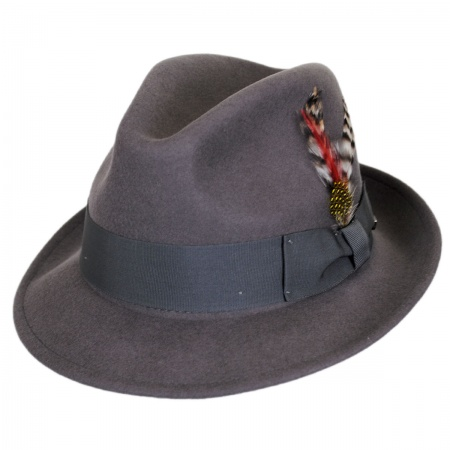 Brixton Hats Jones Wool Felt Fedora Hat