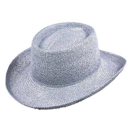 Untrimmed Toyo Straw Gambler Hat alternate view 2