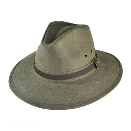 Outback Trading Company Rampart Oilskin Hat