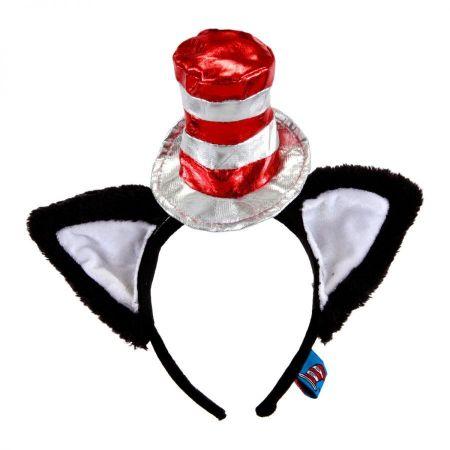 Cat in the Hat Deluxe Fascinator Headband alternate view 1