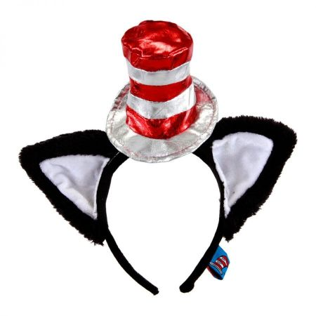 Dr. Seuss Cat in the Hat Deluxe Fascinator Headband
