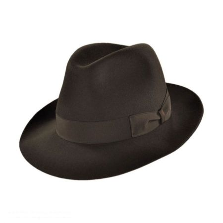 Borsalino Alessandro Packable Fedora Hat