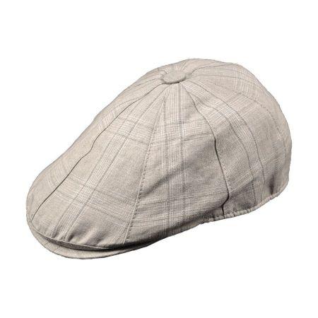 Borsalino Lino Linen Duckbill Ivy Cap