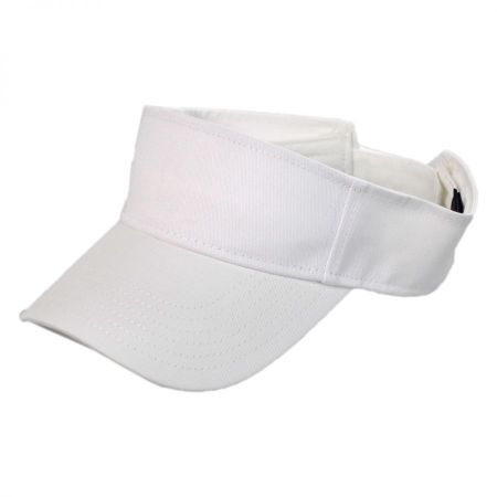 Sport Visor Cotton Twill Cap