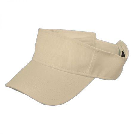 Sport Visor Cotton Twill Cap