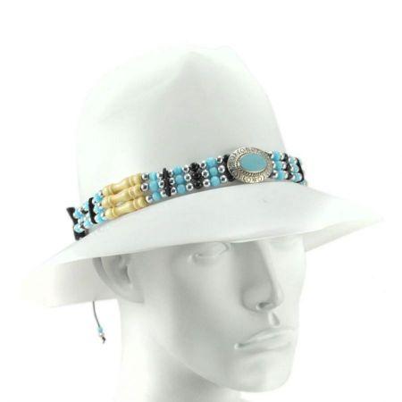 LTC Bolo Bead Hat Band