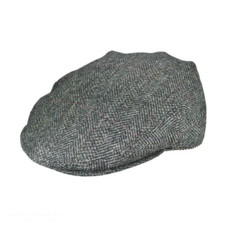 Hills Hats of New Zealand Cheesecutter Tweed Ivy Cap