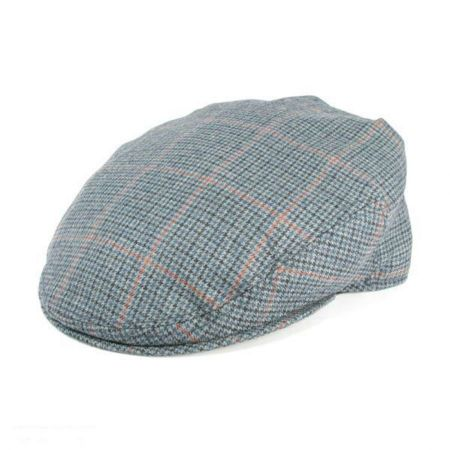 Hills Hats of New Zealand Cheesecutter Houndstooth Wool Ivy Cap