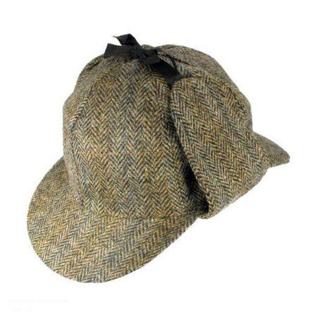 Hills Hats of New Zealand Deerstalker Tweed cap