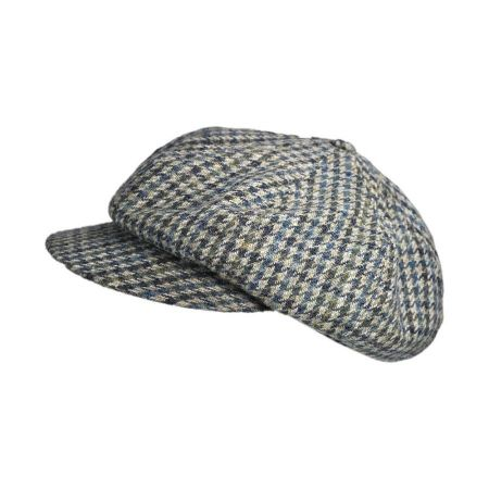 Hills Hats of New Zealand Baker Boy Tweed Newsboy cap