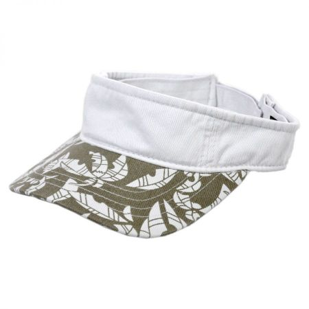 Village Hat Shop Island Visor- 2tone cap
