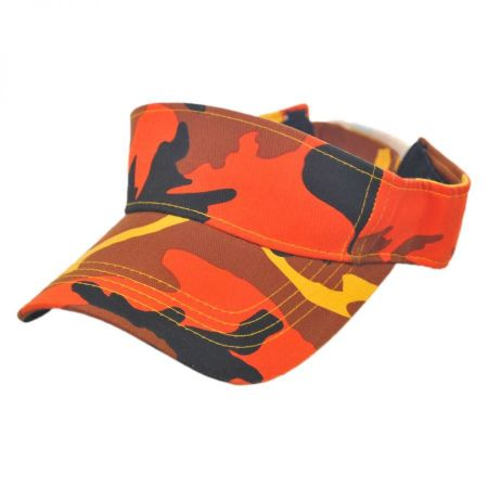Village Hat Shop Camouflage Sport Visor cap