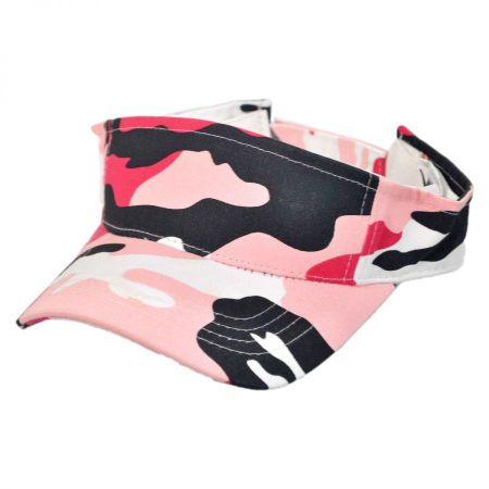 Village Hat Shop Camouflage Sport Visor cap