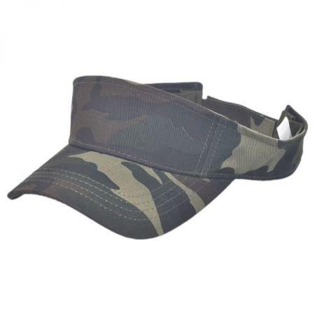 Camouflage Sport Visor cap