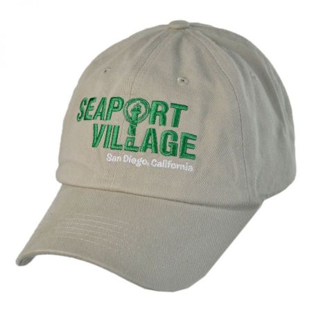 Village Hat Shop Seaport Village Adjustable Baseball Cap