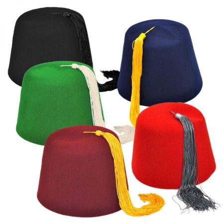 Village Hat Shop Fez 5 Party Pack