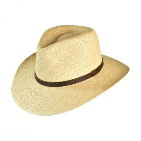 B2B Jaxon MJ Panama Straw Outback Hat