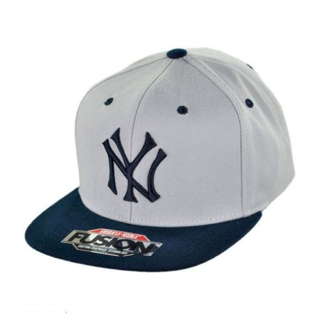 American Needle New York Yankees MLB Back 2 Front Snapback Baseball Cap