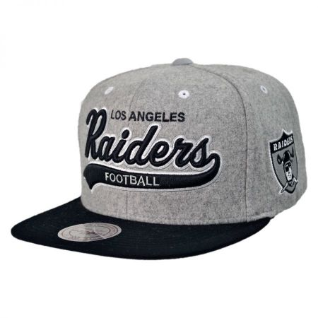 Mitchell & Ness Raiders Heather Melton Baseball Cap