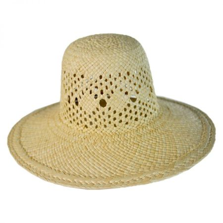 Mini Panama Straw Sun Hat