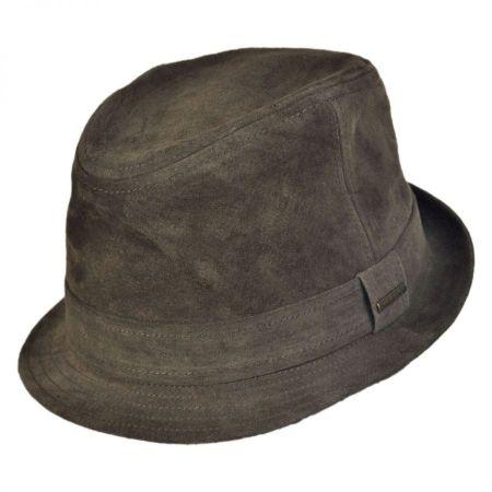 Stetson Suede Fedora Hat