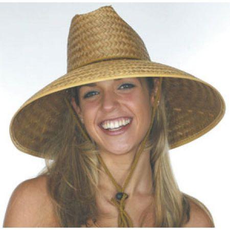 B2B Coconut Straw Lifeguard Hat