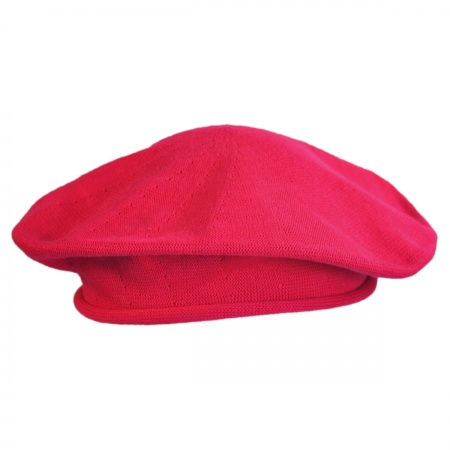 Cotton Beret - 10 1/2 inch Diameter