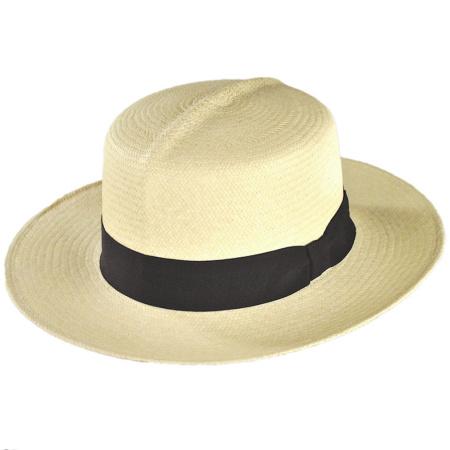 B2B Jaxon Cuenca Panama Straw Habana Hat