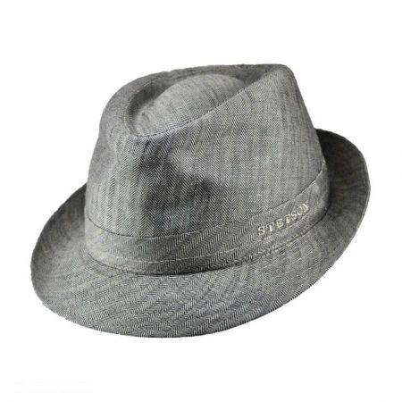 Stetson Osceola Linen Fedora Hat