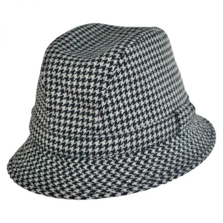 City Sport Caps British Wool Houndstooth Walker Hat