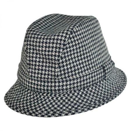 City Sport Caps British Wool Houndstooth Walker Hat