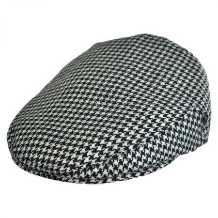 City Sport Caps British Wool Houndstooth Ivy Cap