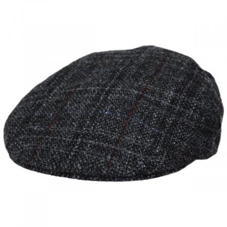 Plaid Harris Tweed Ivy Cap