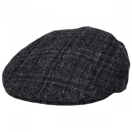 City Sport Caps Harris Tweed Plaid Ivy Cap