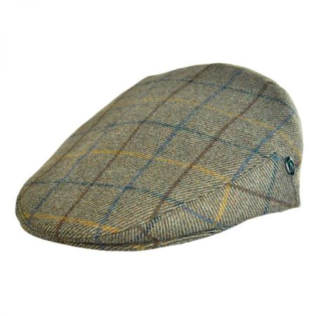 City Sport Caps British Wool Plaid Ivy Cap