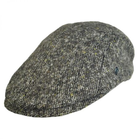 City Sport Caps Pub Donegal Tweed Wool Duckbill Ivy Cap