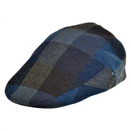 Herringbone Squares Donegal Tweed Wool Ivy Cap alternate view 1